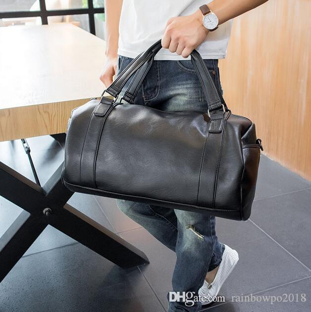 Factory wholesale brand Korean male bag simple man bag simple man portable large capacity satchel leisure business mens bags