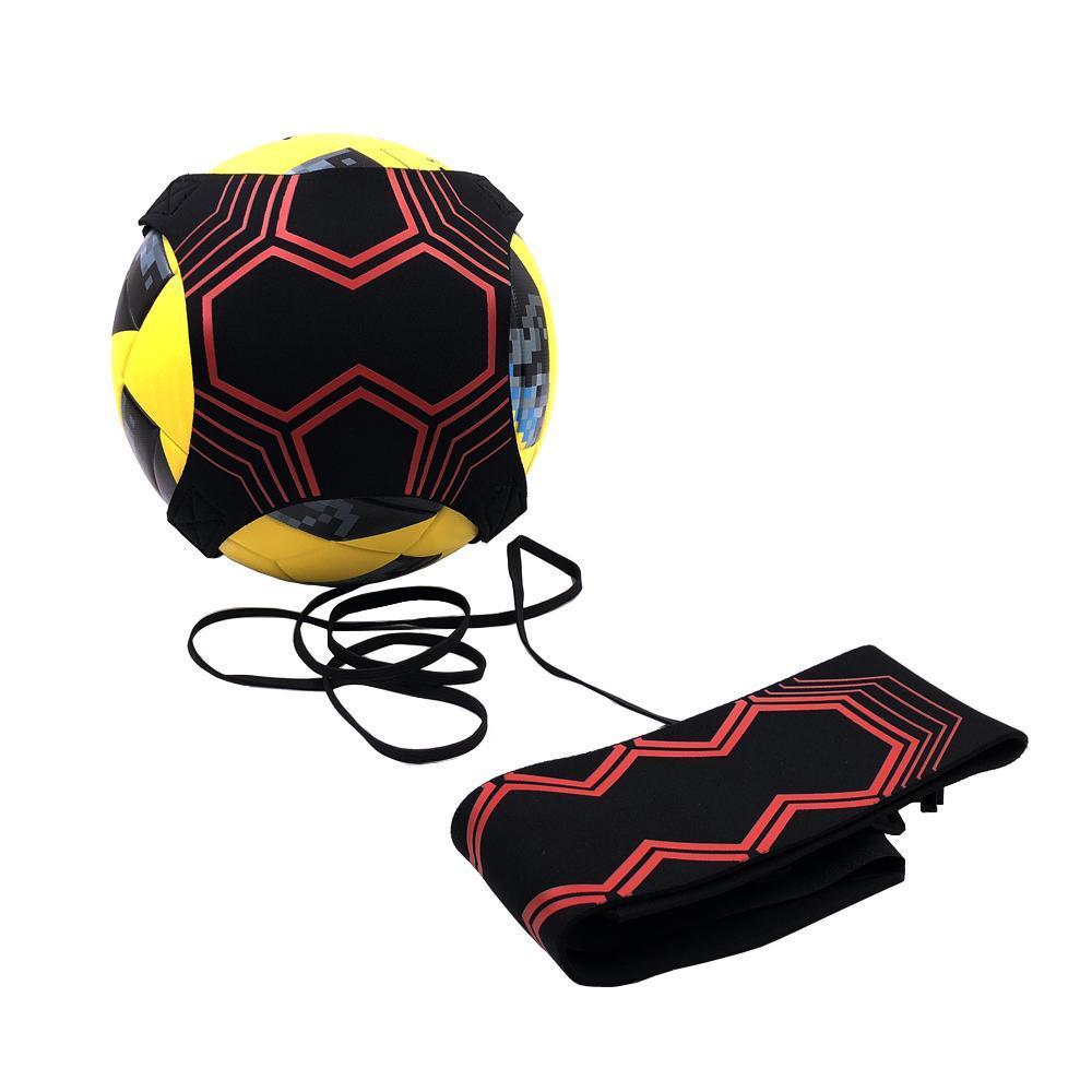 cuerda elástica 2019 nueva Kick Football Solo cinturón Trainer cinética se extiende cinturones de fútbol Entrenar Equipo de Práctica de Ayuda