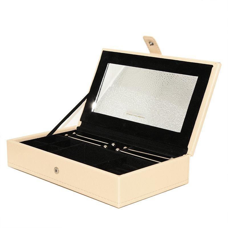 Классическая шкатулка моды для Pandora серьги ювелирных изделий браслетов кольца изысканного ящик для хранения 2019 нового кожаного ящика бесплатной доставки