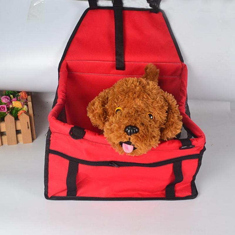 Folding Dog Pet Carrier Pad impermeável Assento Dog Bag Basket seguro Carry filhote de cachorro Cat House Dog Bag Car Seat Produtos Pet