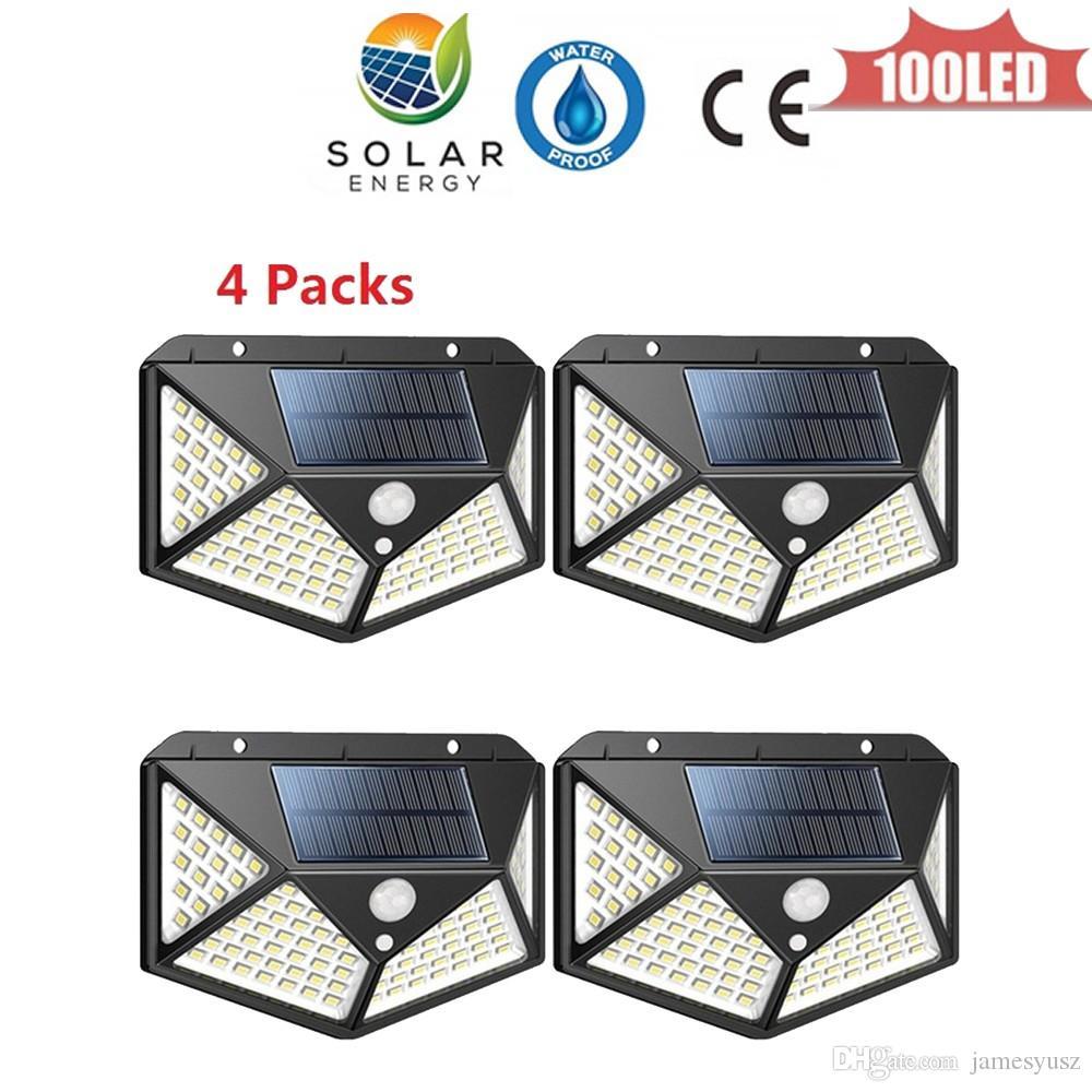 High Power Luz Solar 100 leds Waterproof IP65 Outdoor Solar Garden Light Sunlight LED Solar Light For Grassland Landscape Lighting 4