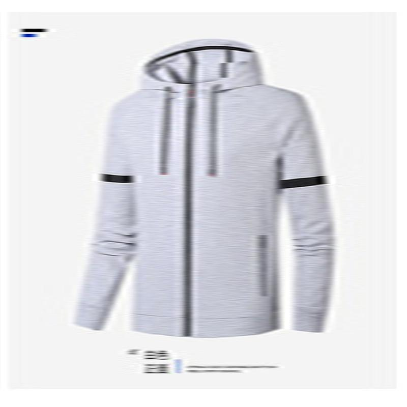 2020 Spring and Autumn Cotton Mens Hoodiie High Quality Zipper Cardigan Sports Hooded Top Fashion Coat Big Size 8XL