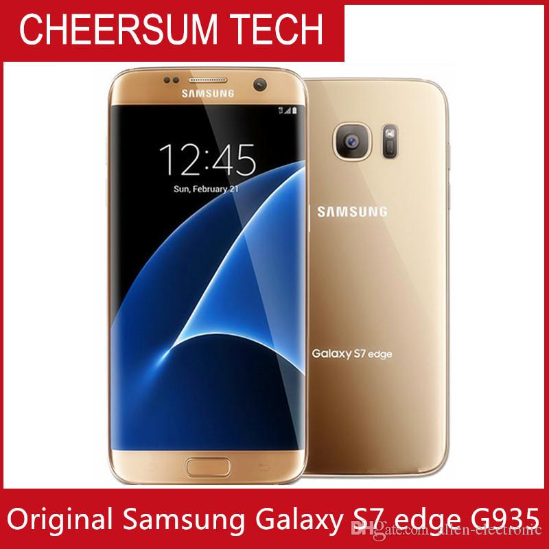 Original Samsung Galaxy S7 Edge G935A G935T G935V G935P Unlocked Cell Phone 5.5 Octa Core 4GB/32GB 12MP 4G LTE Refurbished phone