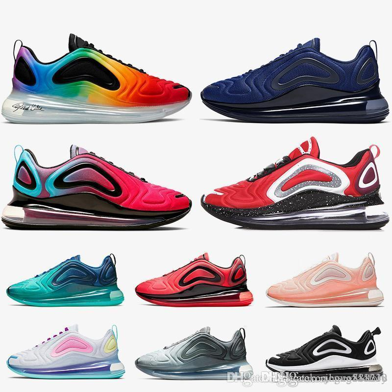 72c Cushions Women Men Running Shoes Be True Blue Void Wolf Grey Silk Midnight Navy THROWBACK FUTURE Outdoors Trainers Designer Sneakers