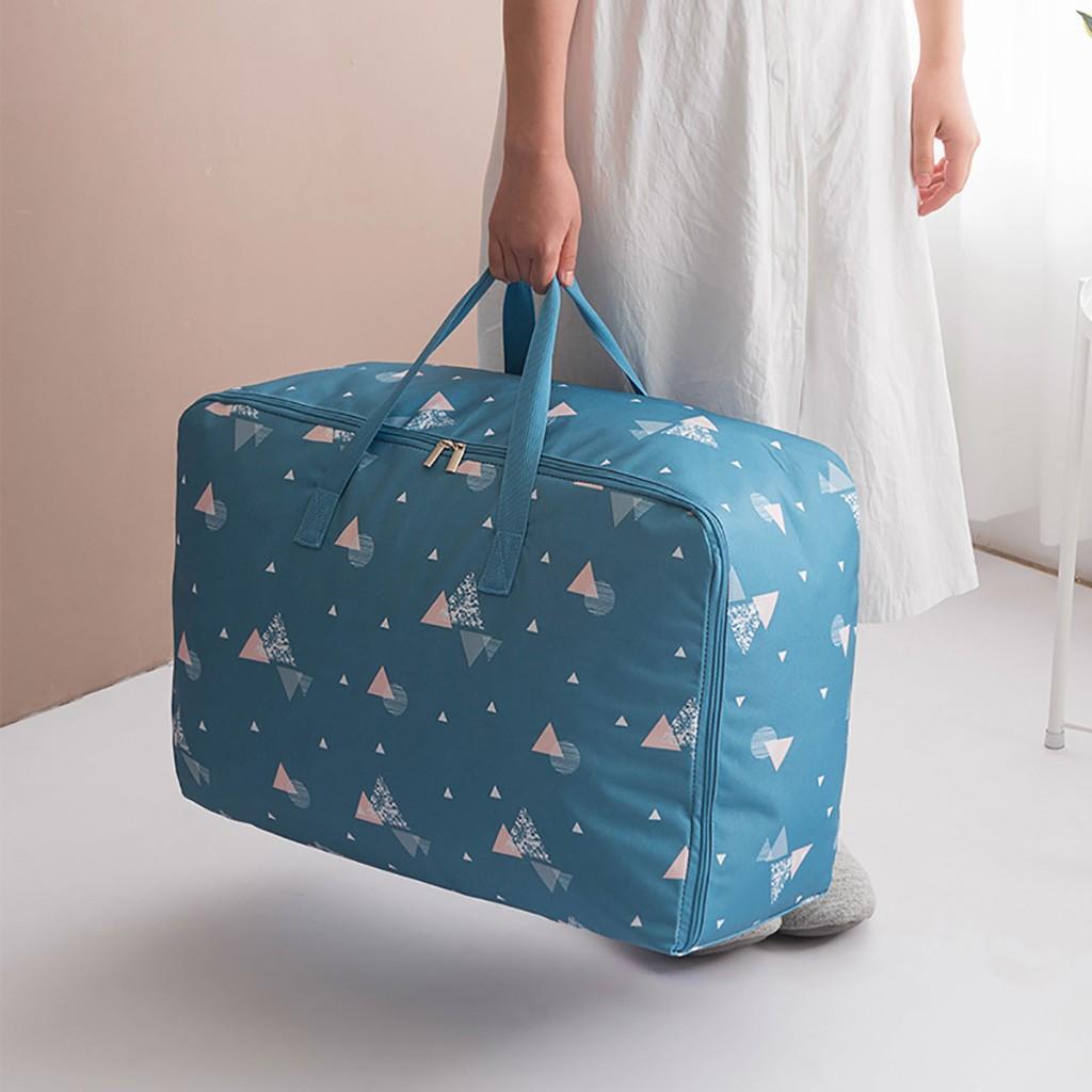 Foldable Oxford Cloth Home Closet Storage Bag Quilt Blanket Zipper Organizer Box