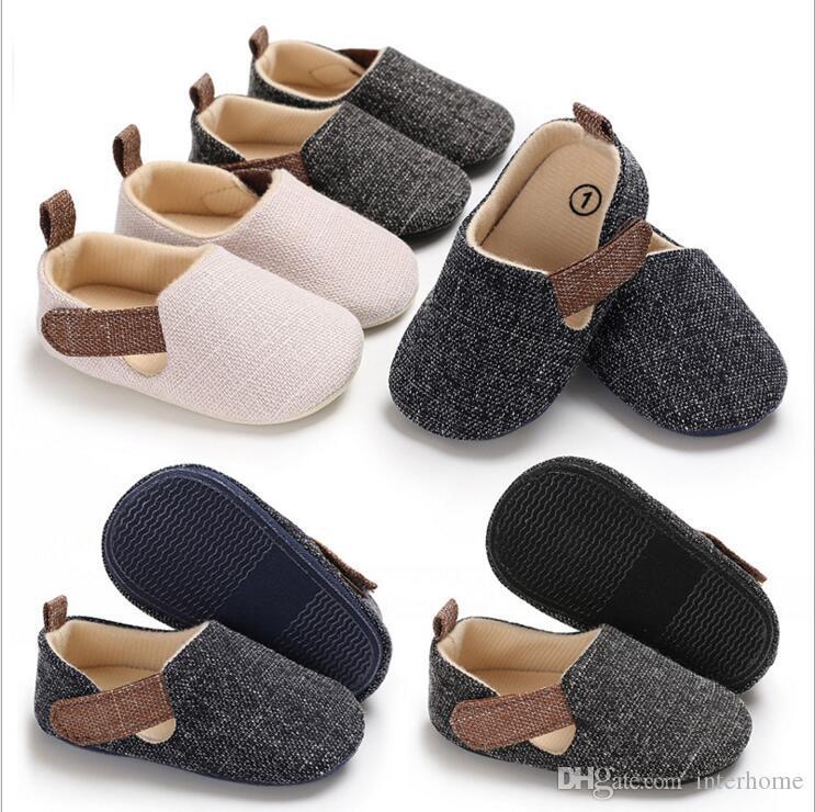 Kids Shoes Baby Sports Canvas Toddler Soft Sole First Walker Sneakers Kids Running Shoes Footwear Prewalker Moccasins Walking Shoes LT384