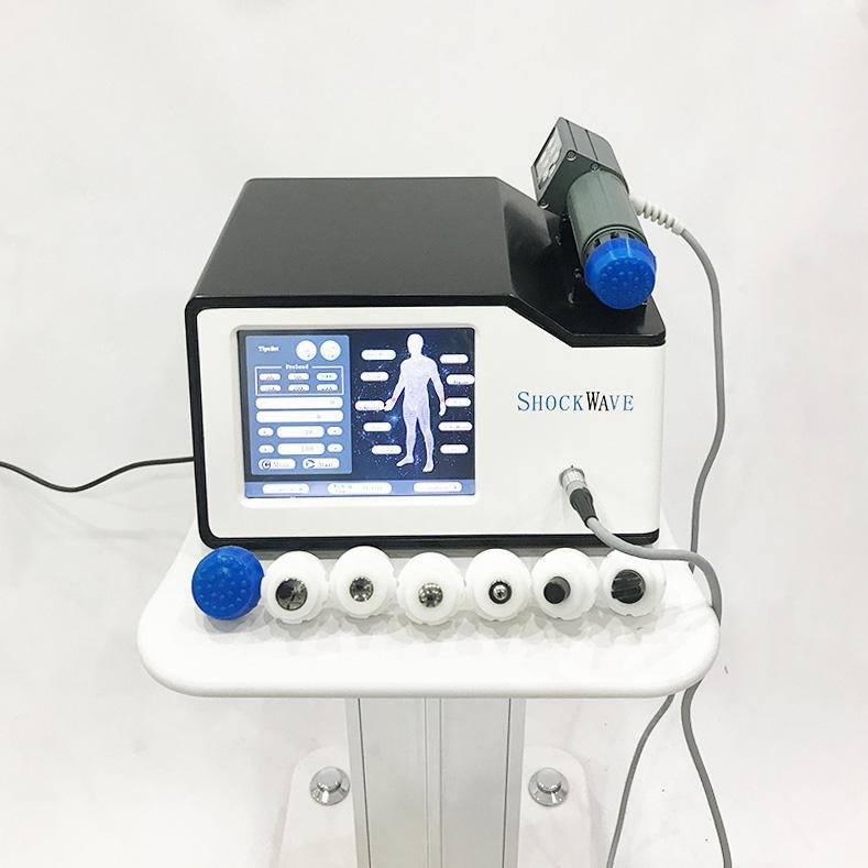 2020 Yeni Şok Dalga Terapi Ekipmanları ED ESWT Shockwave Makinesi ED Fizyoterapi Terapi Vücut Ağrısı Temizleme Makinesi için