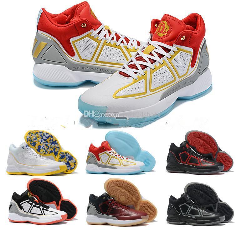 핫 D 로즈 (10 개) 10S X MVP 데릭 로즈 남자 농구 신발 최고 품질 신발 10 개 초 스포츠 스니커즈 디자이너 신발 크기 40-46
