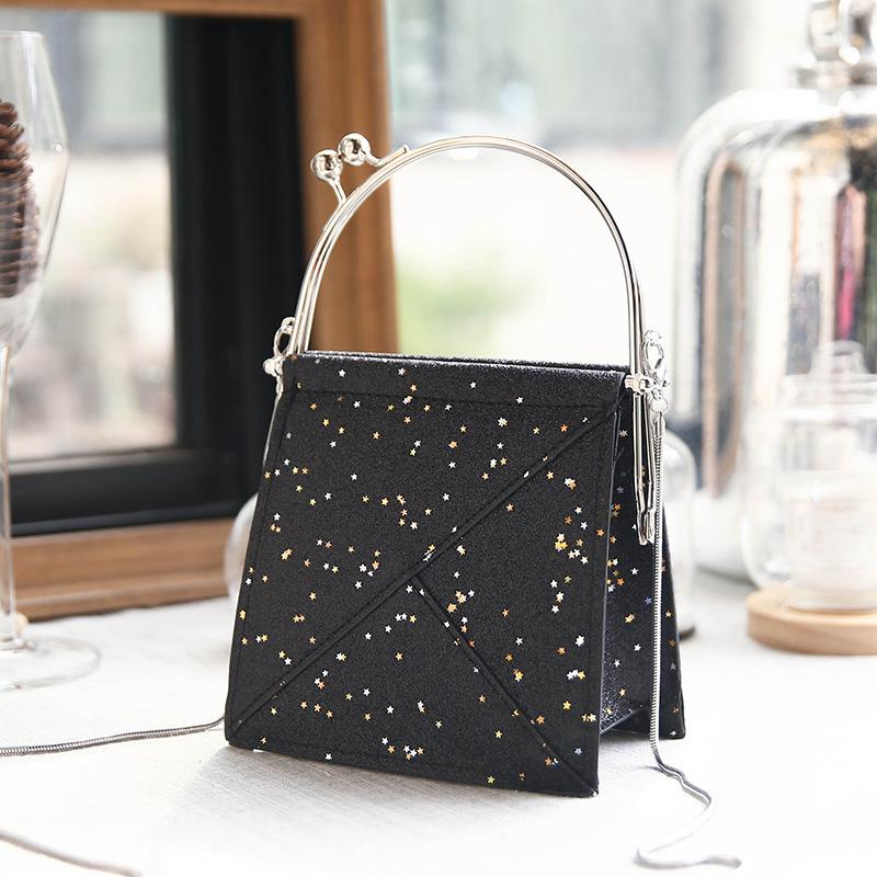 Lucky2019 Bag Small Girl Chao 100 Take The Hand Diagonal Span A Single Room Ins Exceed Fire Package