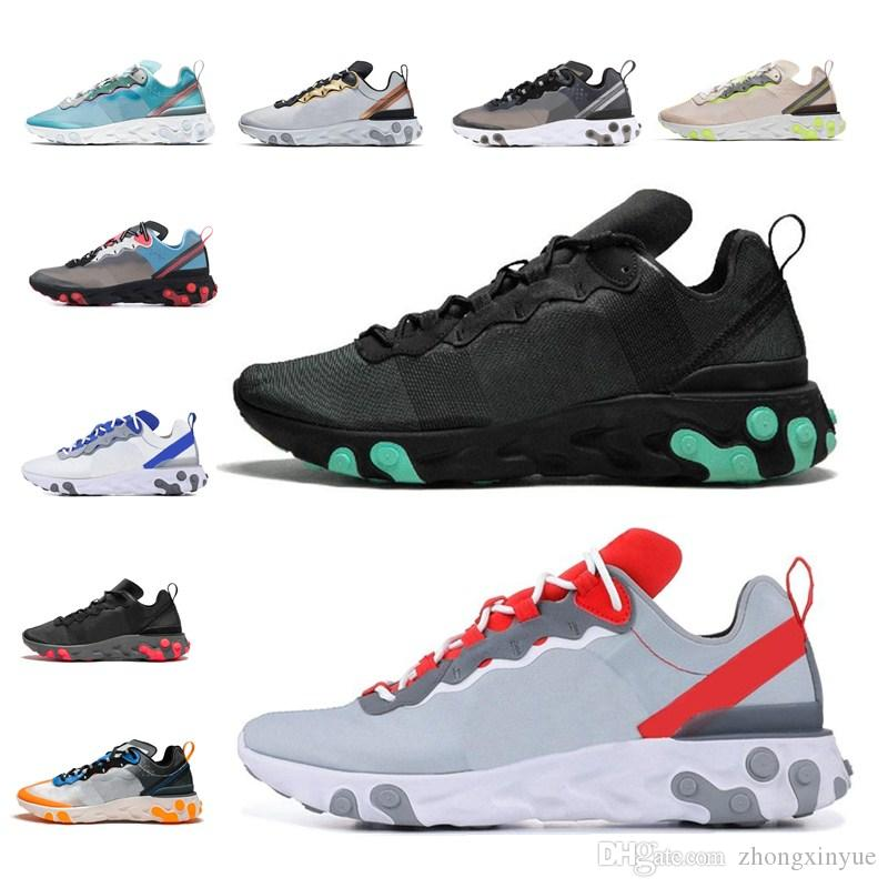 NEW Presto React 2019 New Presto Epic React Element 87 Sail Green Mist Men Shoes For Men High Quality Sneakers Designer Trainer shoes