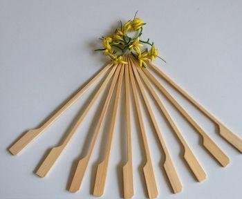 15 cm lang Spie/ße hochwertiger Bambus