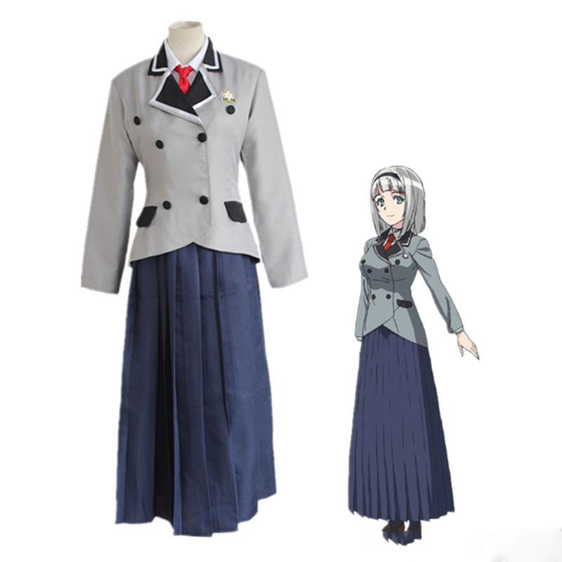 Ayame Kajou cosplay costumes Uniforme scolaire japonais anime Shimoneta vêtements mascarade Mardi Gras Carnaval Halloween costumes