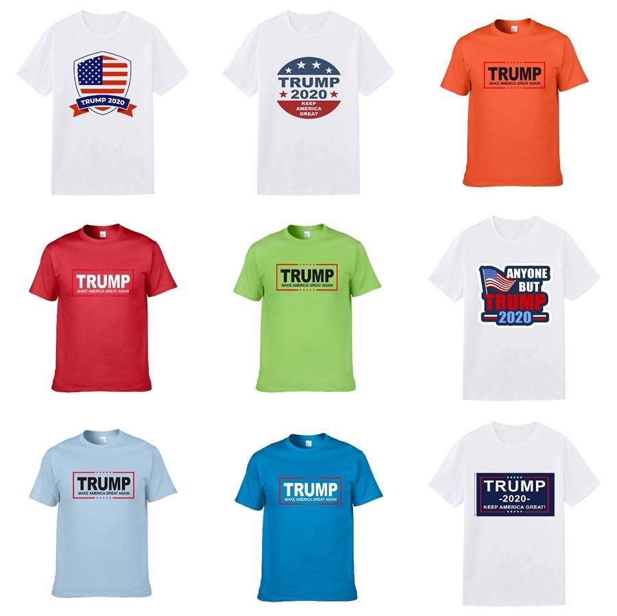 Herren Designer Trump T Shirts Schwarz Weiß Rot Männer Luxus Designer Trump T Shirts Top Short Sleeve Top-Qualität ST18 # 391