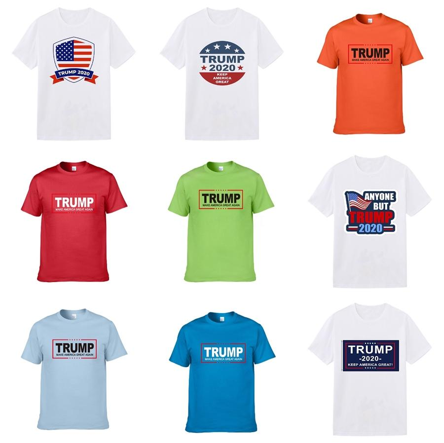 Mens Designer Trump T Shirts Black White Red Mens Luxury Designer Trump T Shirts Top Short Sleeve Top Quality St18 #391