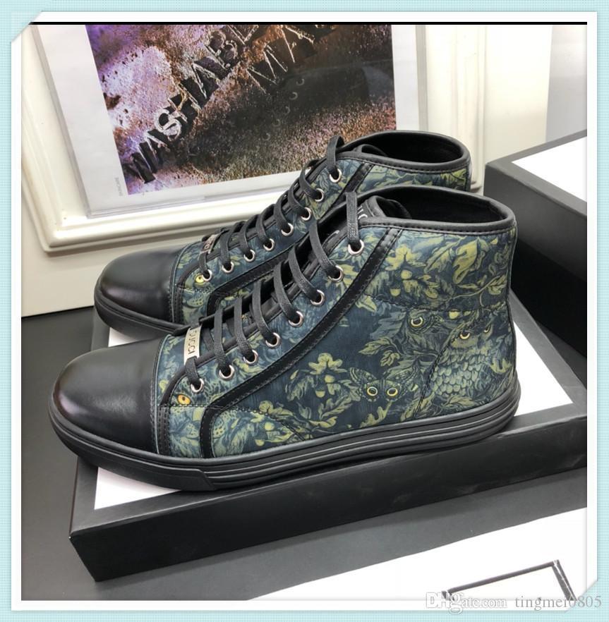 gucci 2019 yeni yüksek kaliteli erkek rahat ayakkabı, high-end erkek ayakkabıları, moda erkek seyahat ayakkabı, orijinal kutu ambalaj boyutu 38-44