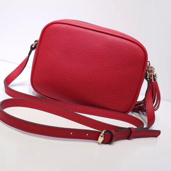 Melhor qualidade e menor preço lichia Mulheres Leather Soho Bag Disco Shoulder Bag Purse saco crossbody Satchel mulheres carteira 308364