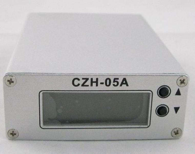 Freeshipping 0.5W CZH-05A FM Transmitter Exciter TX Radio Stereo PLL LCD 88-108mhz + antenna corta + Power Kit per la copertura 300M-1KM