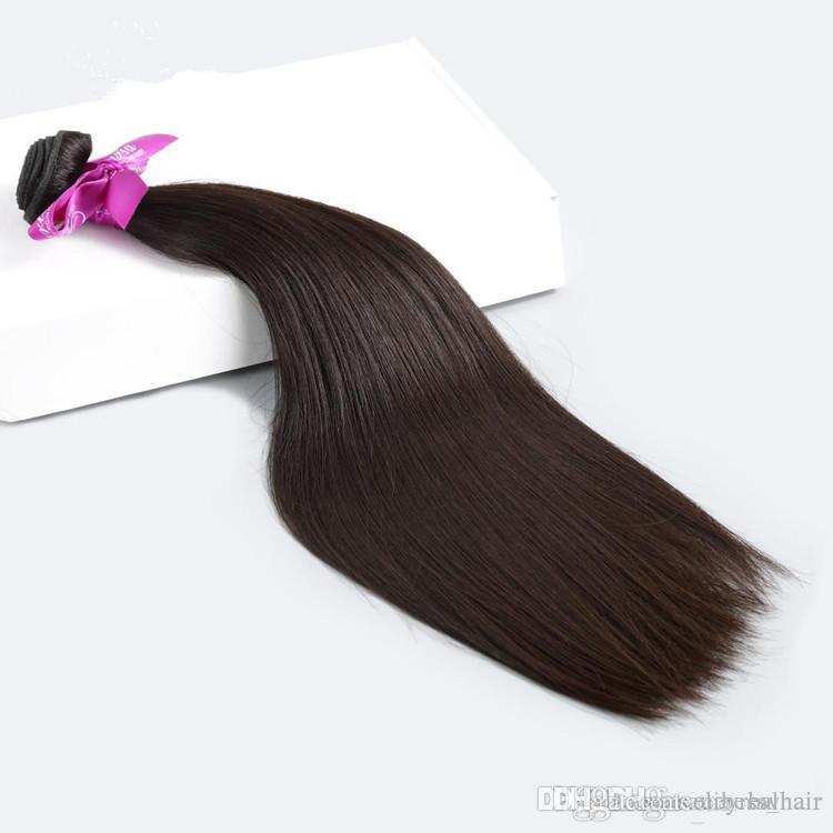 Elibess Haar brasilianische menschliche Jungfrau-Haar-Webart Malaysian Haarbündel gerade Welle einschlag in Erweiterung 80g ein Bündel 5 Bundle Lot