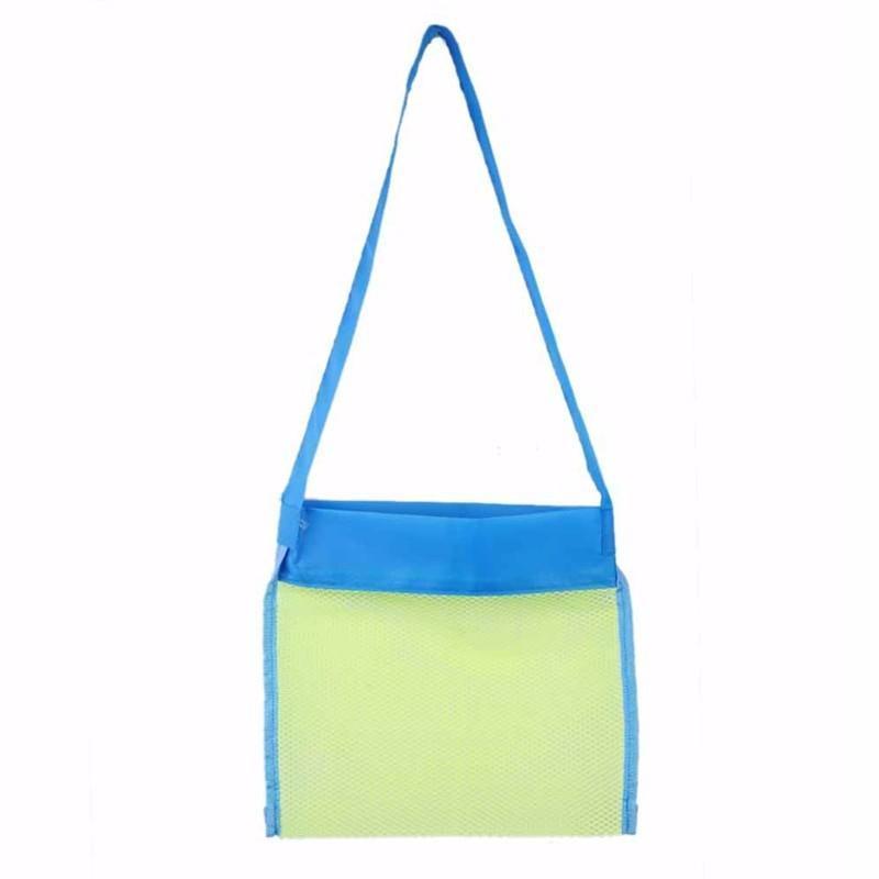24 * 25см Пробела детей сетчатых оболочек пляжа ракушка сумка дети пляжные игрушки получают мешок мешки для хранения ракушки Пробелы детей сетчатых оболочек
