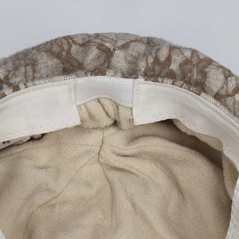 Vendedor de periódicos Mujer Otoño Invierno encaje Caps Pintor sombreros para las mujeres de los hombres de la boina del casquillo Mujer Hombre vendimia la tela escocesa de