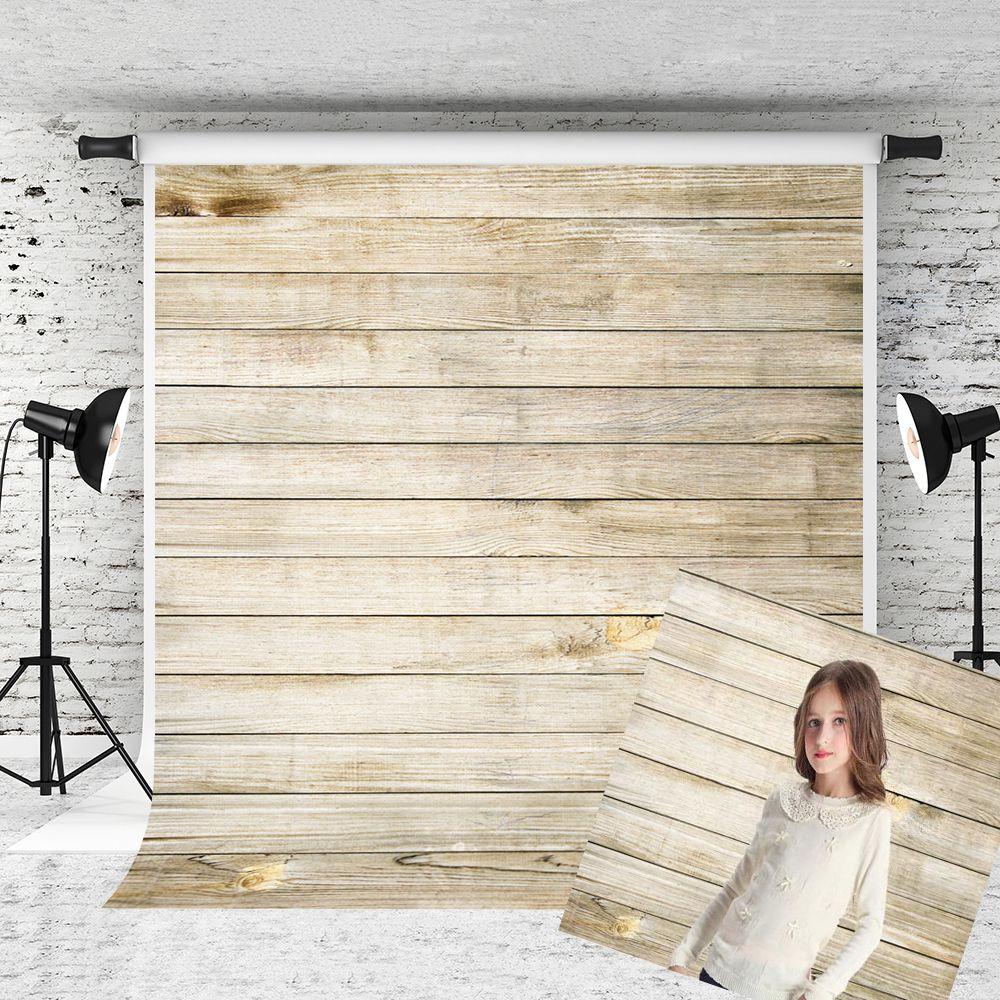 Rêve 5x7ft (150x220m) rétro photographie de bois décors pour photo vieux texture en bois fond prop enfants tirer studio