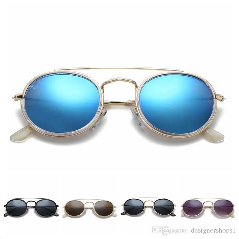 2019 브랜드 디자이너 선글라스 고품질 메탈 힌지 선글라스 남성 안경 여성 Sun glasses 렌즈 케이스 및 박스가있는 남녀 겸용