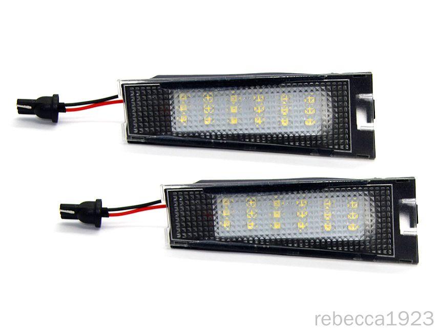 matrícula del coche LED lámparas para la placa de matrícula Benz R129 / S124T del precio de fábrica llevó la luz 13.5V 6000K