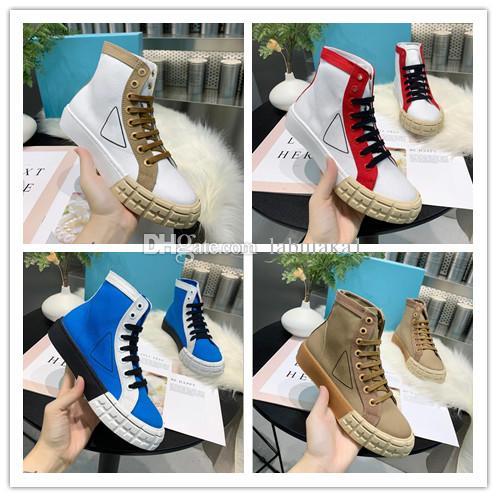 2020 modelos de passarela Gao bang Lady Conforto Vestido Casual sapata do esporte da sapatilha Casual fundo de pele de carneiro sapatos Personalidade Womens Trilhas Caminhada