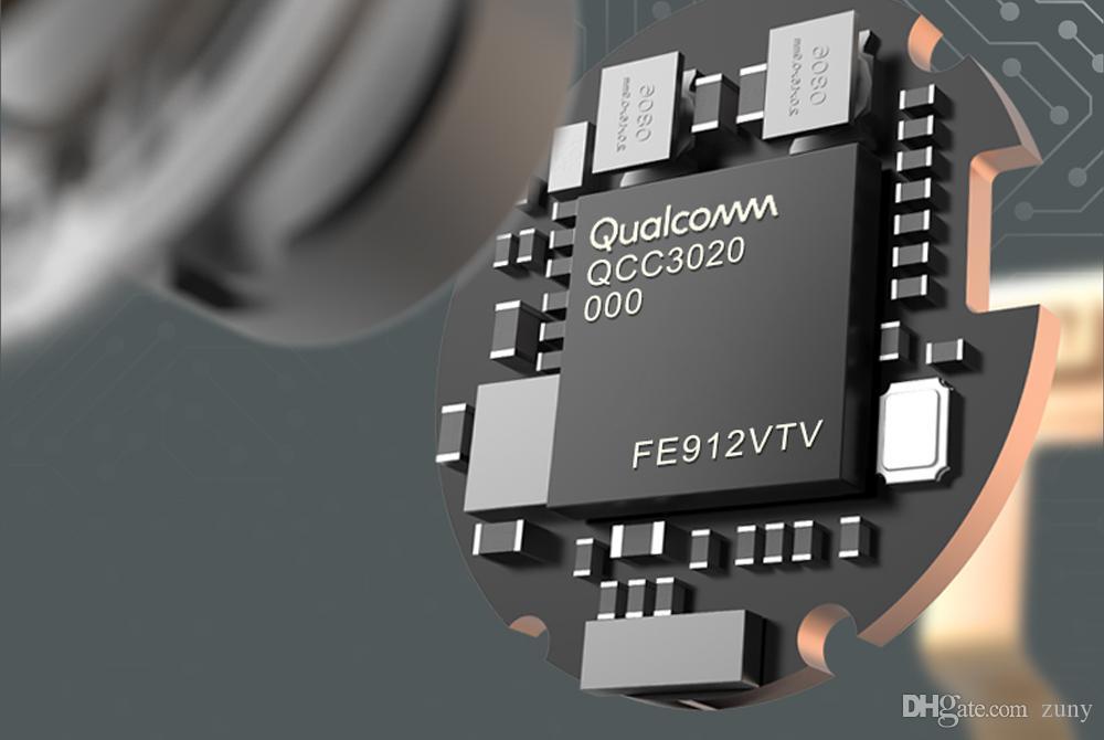 Freeshiping TWS Earbuds Qualcomm aptX Wireless earphone Bluetooth 5. 0 cVc Dual MIC ruído cancelando até 24h tempo de reprodução