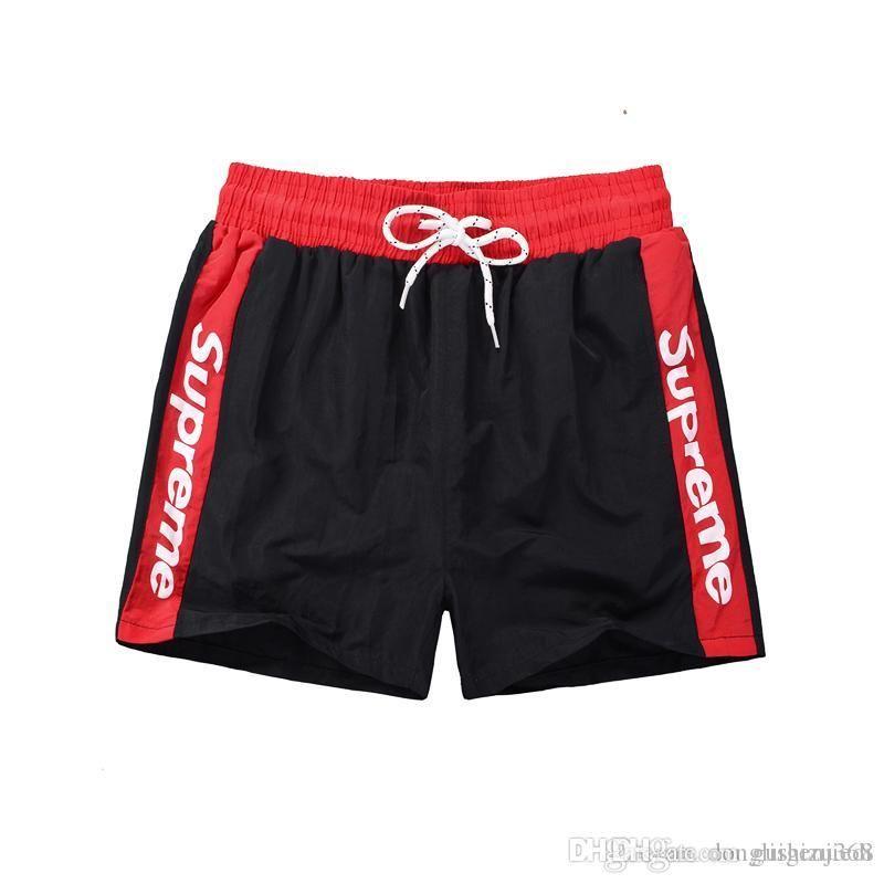 Novo 2018 verão praia homens shorts cor sólida de algodão casuais soltas shorts da cintura elástica Swimwear Bermuda Carta Masculina Surf Life Men Swim
