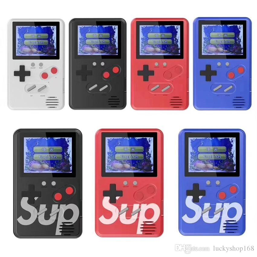 Upgraded SUP Game Console 500 games Ultra thin Mini Handheld Game Machine Portable Classic Video game Player Color Display With Package 20X