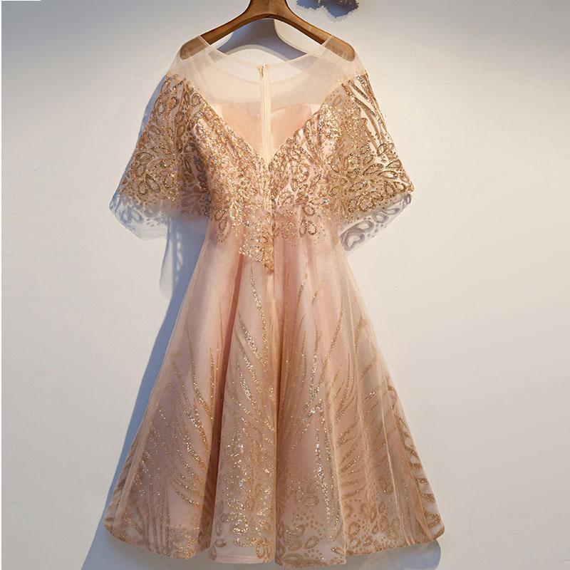 De nouvelles robes dame fantaisie fée robe de soirée banquet peuvent généralement porter les femmes de robe de soirée d'anniversaire