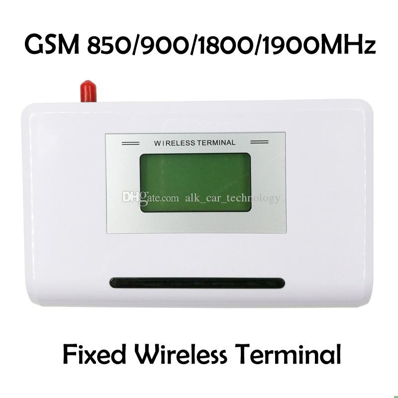 GSM 850/900/1800/1900MHZ Fixed wireless terminal with LCD display, support alarm system, PABX, clear voice, stable signal