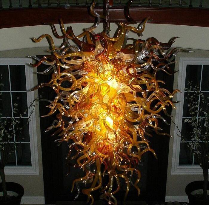 Lampe Desigh Turkey Lampen Home Decoration Kunsthandwerk Dekorative Glas Pendelleuchte Stil Handgemachte LED Geblasene Glas Kronleuchter
