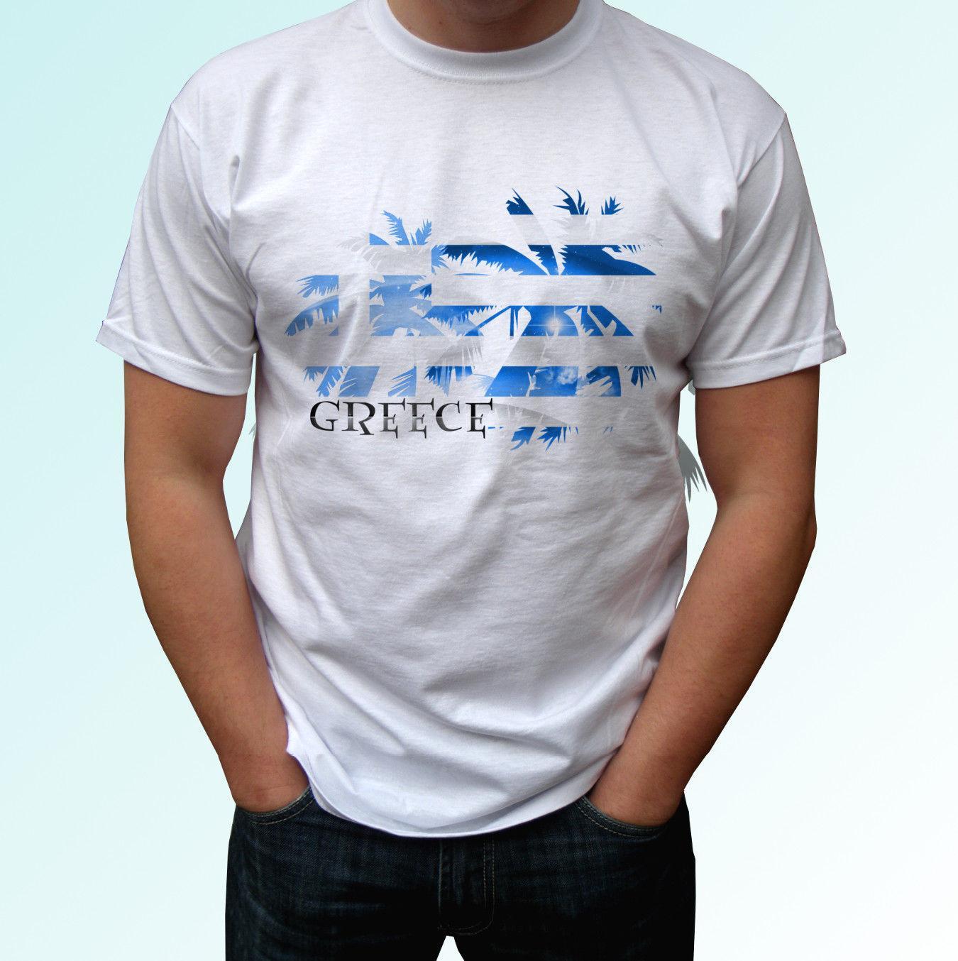 Greece Football Mascot T-Shirt *Choice Of MENS LADIES KIDS* Fan Shirt