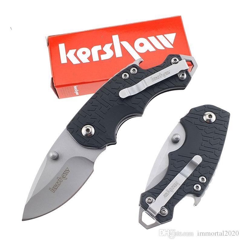 Бесплатная доставка Kershaw 3800 Складной нож Tactical Mini легко носить Открытый карманный нож Многофункциональный инструмент EDC подарков выживания Resuce нож