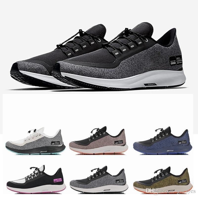 2018 shoes incredible prices los angeles Acheter Nike Air 2019 Zoom Fly Pegasus 35 Utilitaire De Bouclier  Réfléchissant Olive Vert Turbo Hommes Chaussures De Course Marathon 35s  Sport Femmes ...