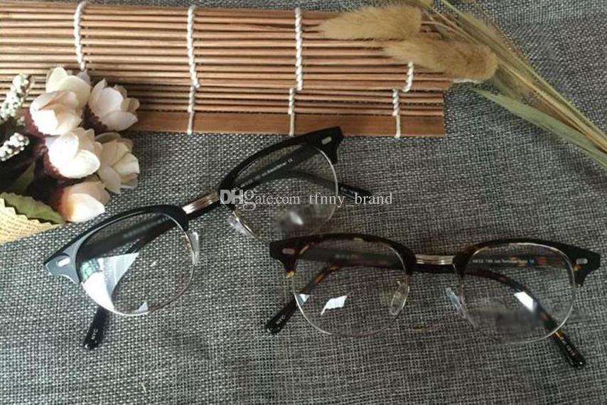New arrived retro vintage Yukel johnny prescription glasses optical eyeglasses spectacle depp frame with original box