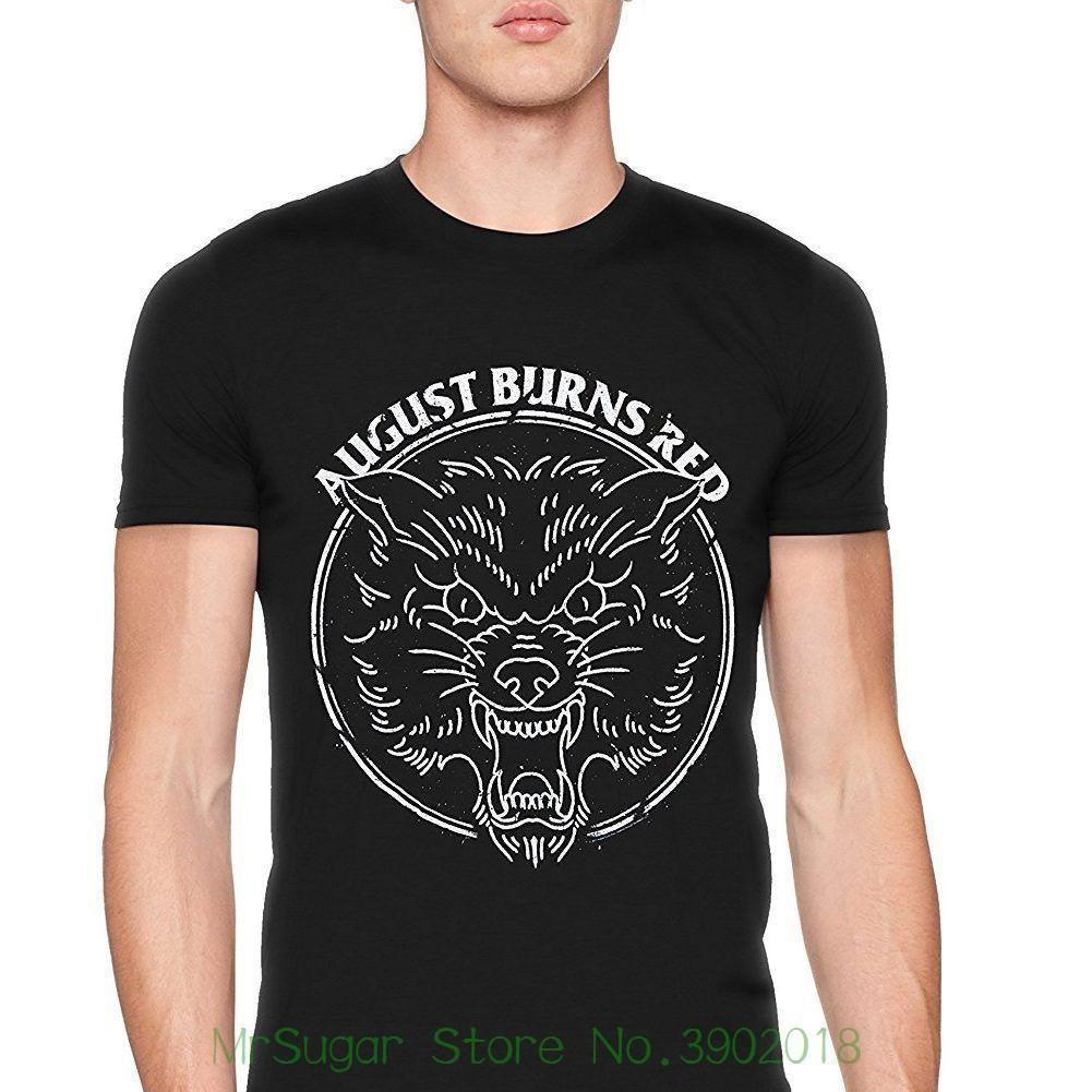 August Burns Red Tee Black Cotton Men/'s T-Shirt Size S to 3XL