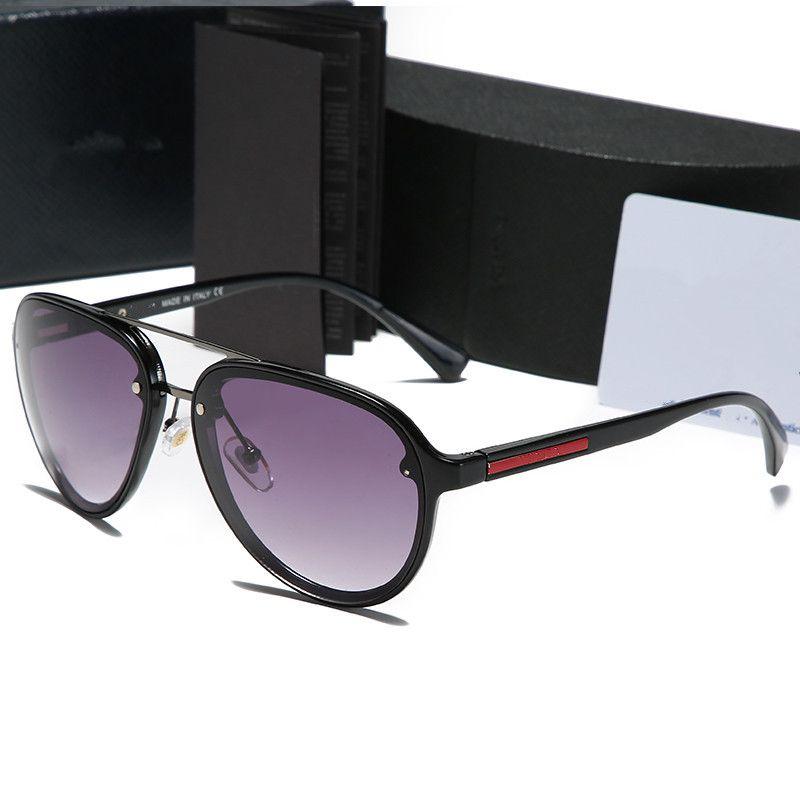 2020 Unisex Aluminium Magnesium Frame Brand Ellipse Polarized Resin UV400 Driving Light Sunglasses Men/Women 52