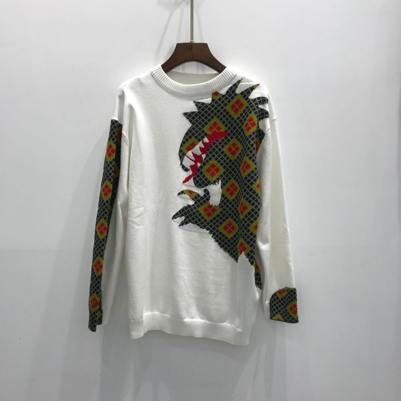 Kadın Triko Moda Casual Kazak Boyut S-L Rahat Sıcak WSJ000 # 111860 lucky06