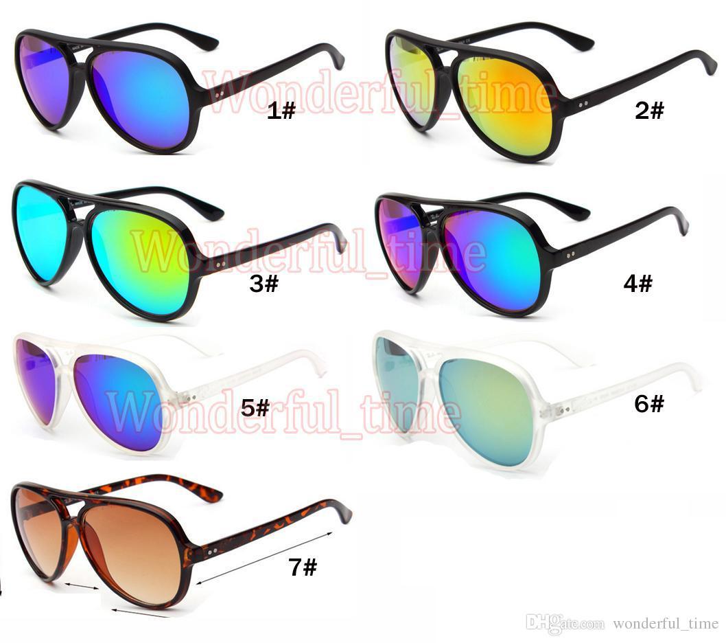 여성 안경 패션 선글라스 눈부신 색다른 여름 신제품 운동화 야외 스포츠 선글라스 일곱 색 안경 무료 배송