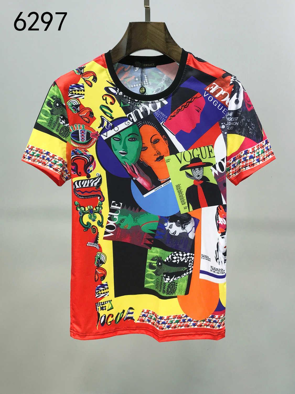 2020 Estate personalizzata Allentare il tempo libero Puro Cotone Uomo manica corta Top Quality T T-shirt maschile Wear Slim vestiti 11293