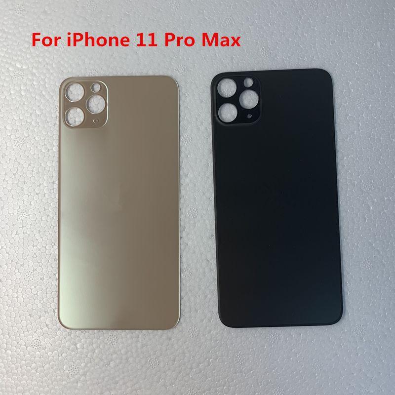 Vidro traseiro para o iPhone de 11 11Pro Max bateria tampa traseira Porta Habitação Big Reter Brand new