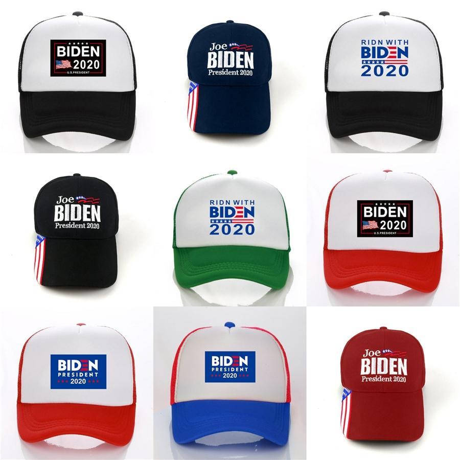 Amerika Büyük Yine Şapka Nakış Ayarlanabilir Snapback # 752 Caps olun Abd 45Th Başkanı 45 Beyzbol şapkası 8 Renk Donald Biden Şapka