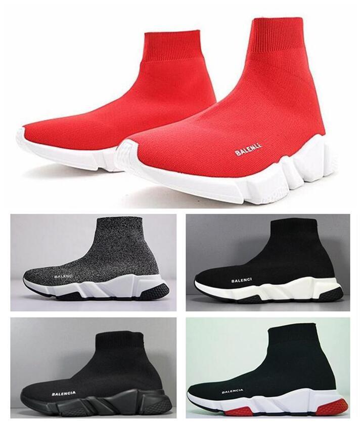 parís calcetín zapatos de descuento Speed Trainer de alta calidad de las zapatillas de deporte Speed Trainer calcetín Carrera Corredores zapatos de los hombres y las mujeres