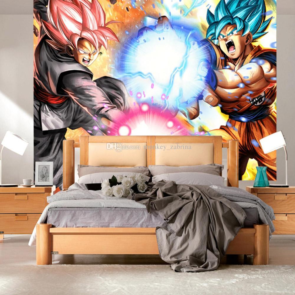 Dragon Ball Super Wallpaper Japanese Anime 3d Wall Mural Goku