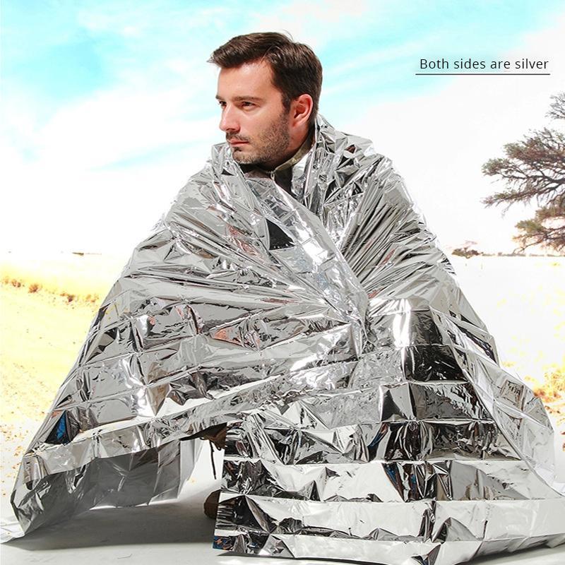 Sliver Blanket Outdoor Water Proof Emergency Survival Rescue Blanket Foil Thermal Space