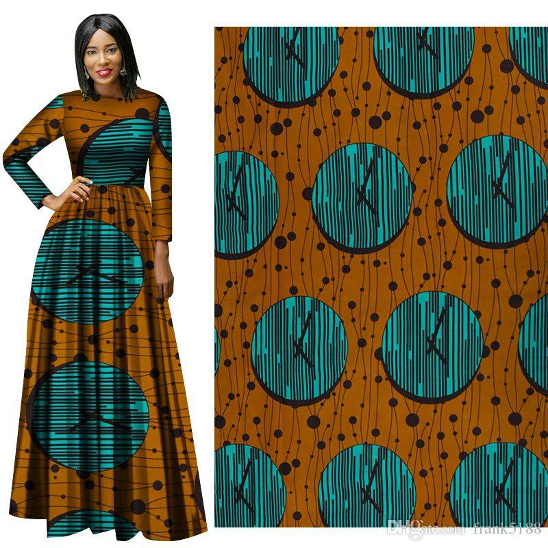 Latest High Quality Cotton Fabric Popular Style African Wax Prints Fabric African new Wax Print Fabric for dress suit