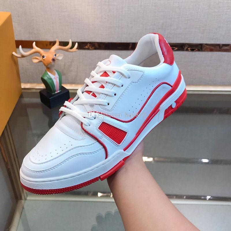 Designer Mens Shoes Luxury Fashion Brand Uomini Sneakers Dimensioni 38-44 Modello RX874